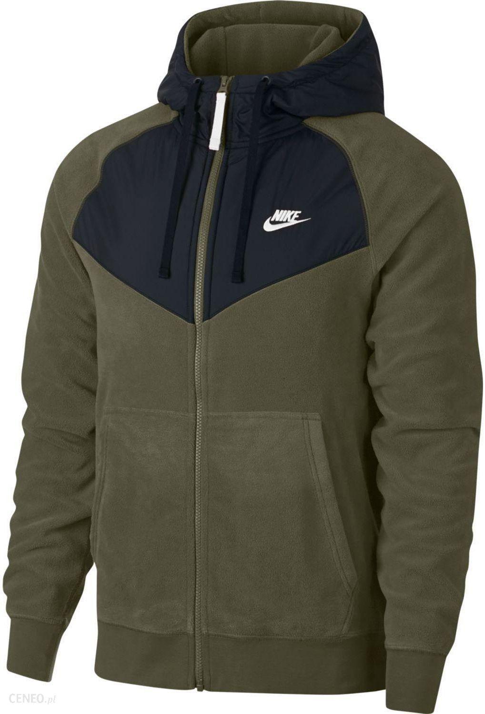 140bc15cb Bluza męska Sportswear Hoodie Windrunner Nike (khaki) - Ceny i ...