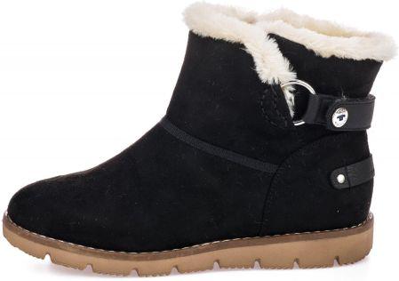 45a213bd617d66 Tom Tailor buty zimowe damskie 39 czarny - Ceny i opinie - Ceneo.pl