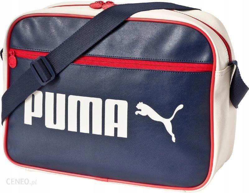 b09a88b1cb88f Torba Puma Campus Reporter   Szkolna 074158 02 - Ceny i opinie ...