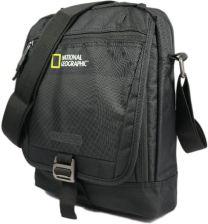 2f42e2565 National Geographic, Torba na ramię z klapą, Trail 13405, czarna