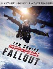 Mission: Impossible - Fallout (steelbook) [Blu-Ray 4K]+[2xBlu-Ray]