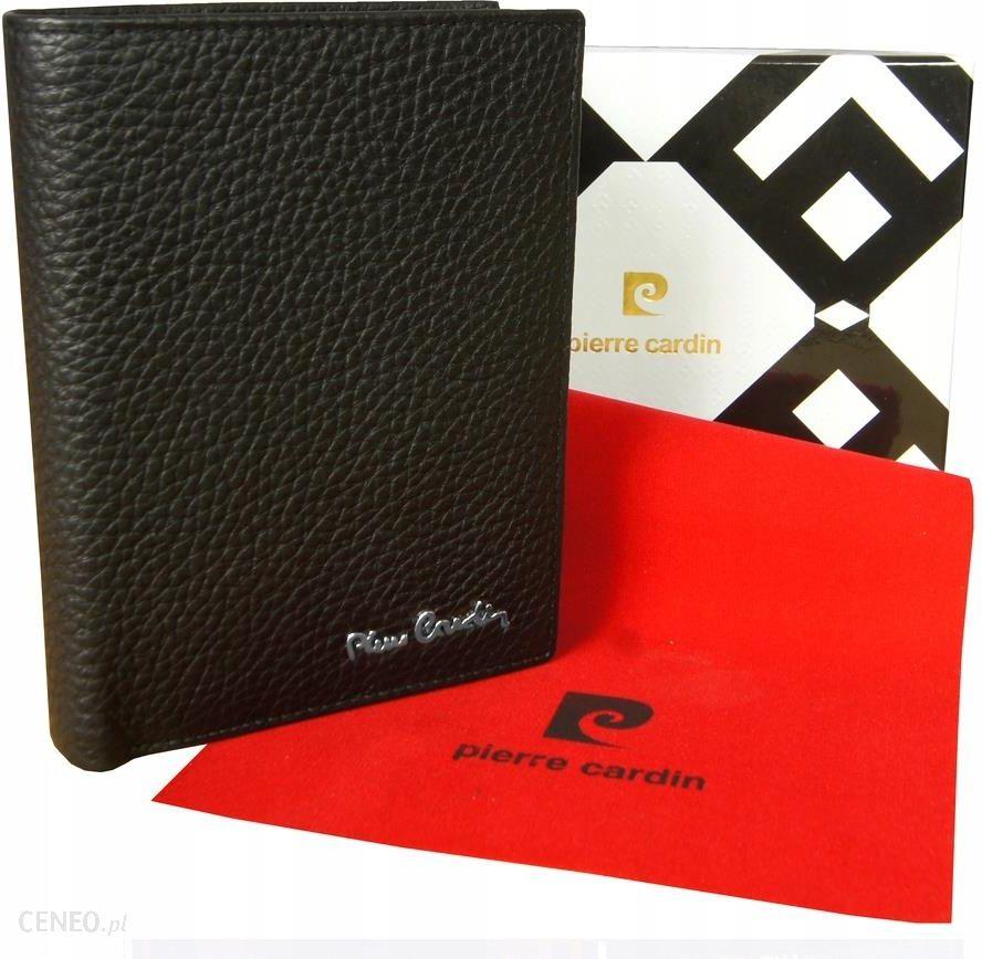 938428f226d93 SKÓRZANY portfel męski PIERRE CARDIN skóra CZARNY - Ceny i opinie ...