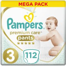 Pampers Premium Pants Mega Box S3 112Szt