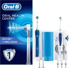 Oral-B Zestaw Szczoteczka Elektryczna Oxyjet Z Irygatorem Pro 2000 b17c3cfe7d36