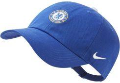 a082f6437 Regulowana czapka dla dużych dzieci Chelsea FC Heritage 86 - Niebieski