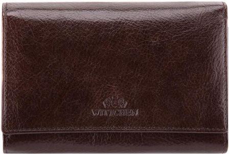 fd4e301ea62a2 Damski portfel ze skóry lakierowanej Barberinis - Czarny - Ceny i ...