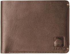 da3917701af66 Męski portfel skórzany Delsey Enjoleur - brązowy