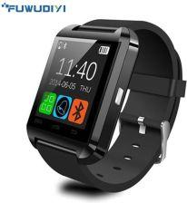 aca95482500cc4 AliExpress U8 Inteligentny Zegarek Zegar Synchronizacji Zgłaszającego  Hombre Mężczyźni Bluetooth Mujer s Dla Huawei Xiaomi Android