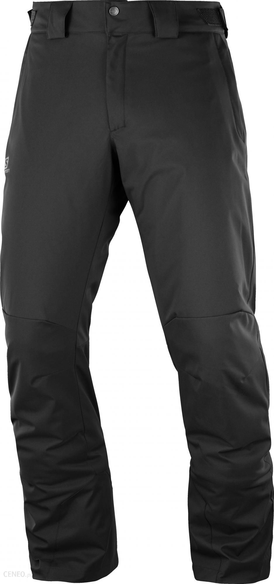 Salomon Męskie Spodnie Narciarskie Stormpunch Pant M Black - Ceny i ... 65a2b98072d