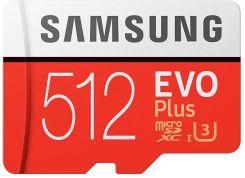 Karta pamięci do aparatu Samsung EVO Plus microSDXC 512GB UHS-I U3 (MB-MC512GA/EU) - Ceny i opinie na Ceneo.pl