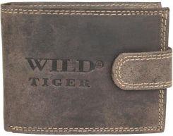 86aab142fc5c1 Portfel męski z nubuku Wild Tiger - Ceny i opinie - Ceneo.pl