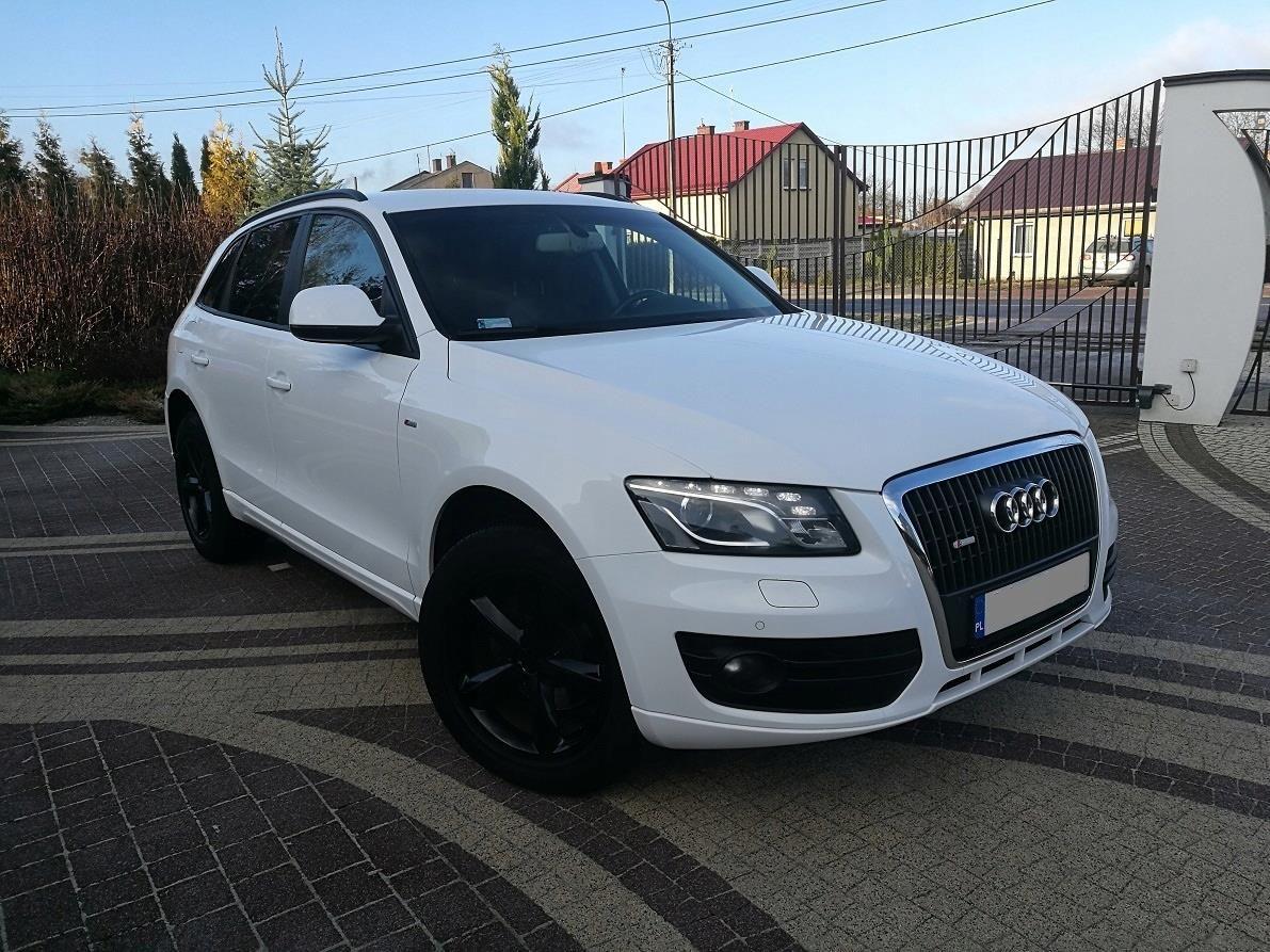 Audi Q5 S Line Biały Bogato Wyposażony Opinie I Ceny Na Ceneopl