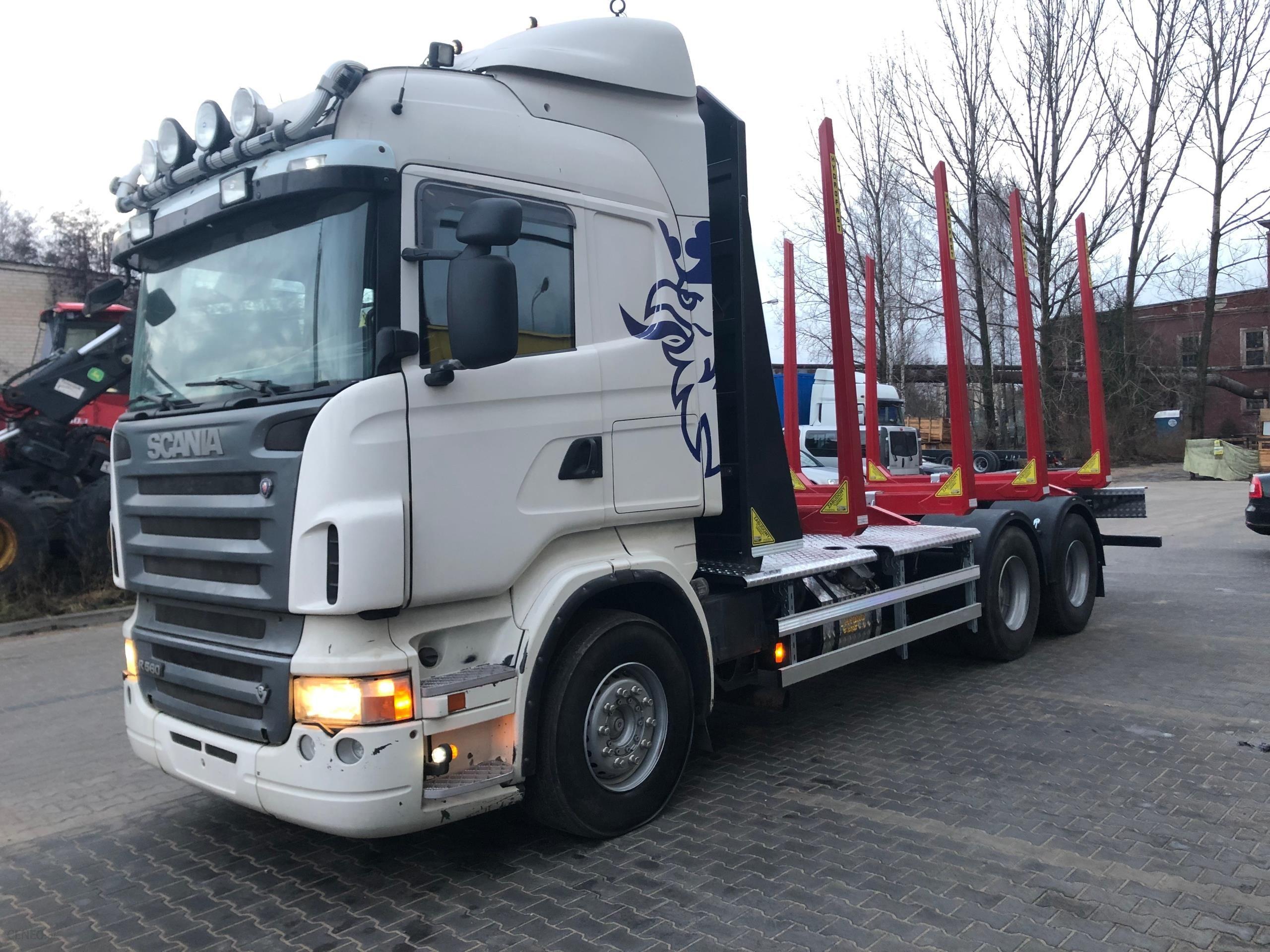 Scania R560 Do Transportu Drewna Nowa Zabudowa Opinie I Ceny Na Ceneo Pl