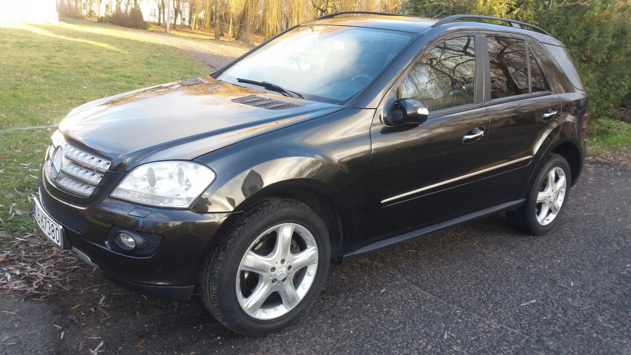 Mercedes Ml W164 Idealny 320cdi 4x4 Opinie I Ceny Na Ceneo Pl