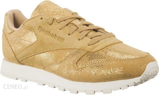 Reebok Buty damskie Classic Leather Shimmer złote r. 40.5 (CN0574) Ceny i opinie Ceneo.pl