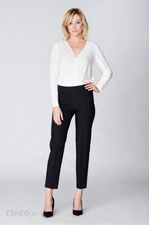 463fbd9c309710 Eleganckie spodnie z ozdobnym pasem z tyłu XL Czarny - Ceny i opinie ...