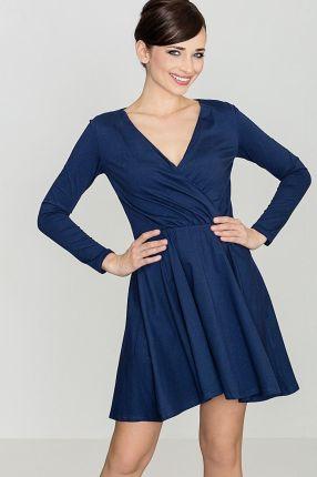 c719bdcab4 Elegancka Sukienka Idealna Dla Modnych Kobiet Liliowy 44 - Ceny i ...