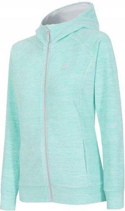 ADIDAS Originals – Bluza z kapturem z nadrukiem z logo – Miętowy melanż