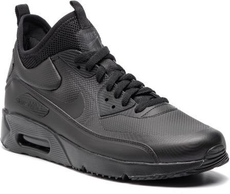 2d58aa841227 Buty NIKE - Air Max 90 Ultra Mid Winter 924458 004 Black Black Anthracite  eobuwie