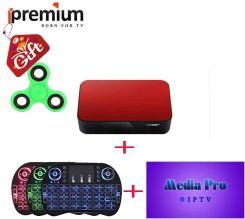 AliExpress Ipremium Avov TvOnline Android Tv Box Z Airmouse Bezprzewodową  Klawiaturę MediaPro Mag 254 256 Box Iptv Arabski Europa Kanały PK -