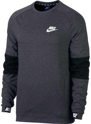 Bluza męska Sportswear NSW Crew Fleece Nike (granatowa