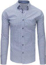 Dstreet Koszula męska elegancka w kwadraty (dx1675) Ceny i  QiB9s