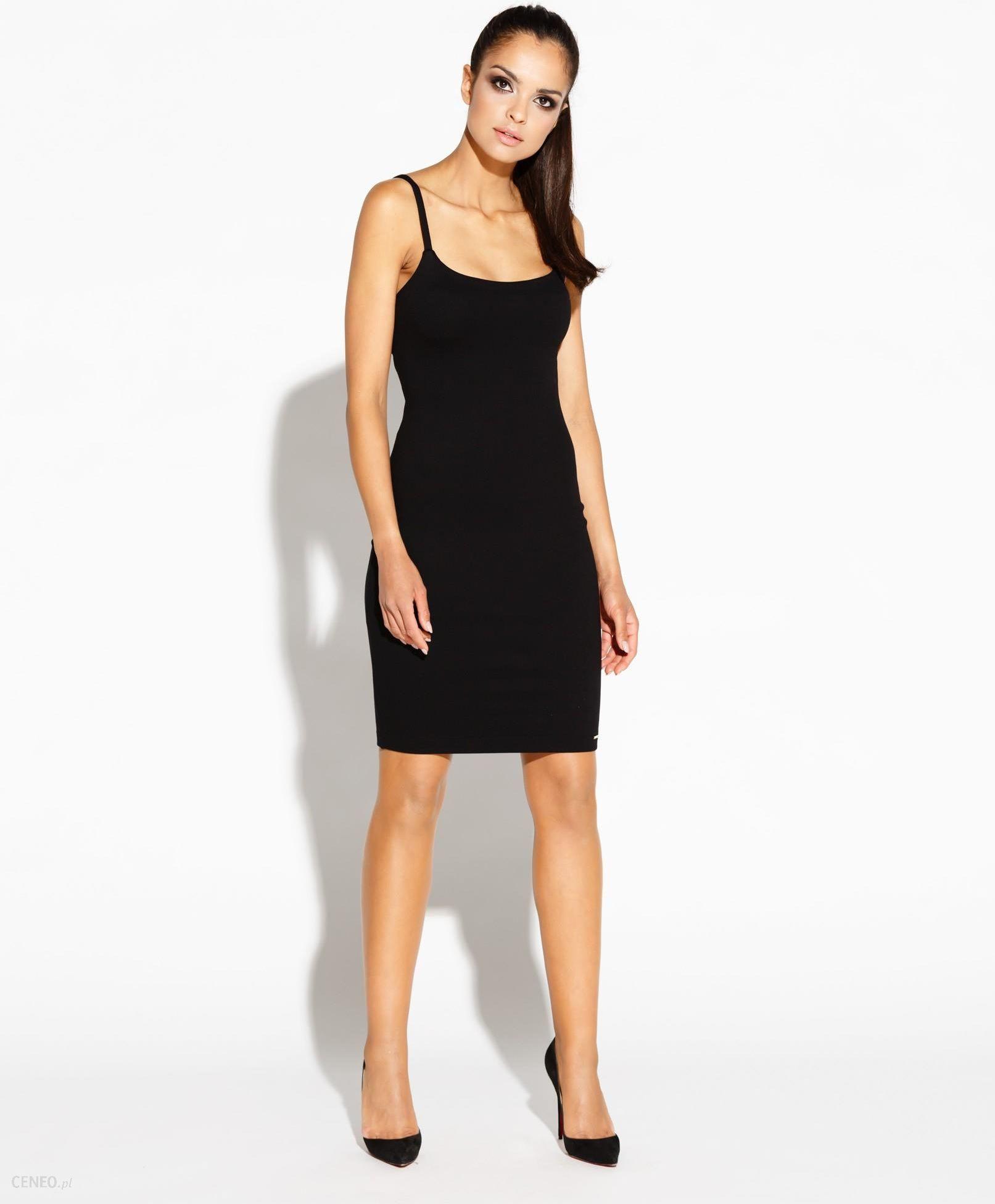 3295085867 Dursi Dopasowana sukienka - wycięte plecy - Roxet - czarna