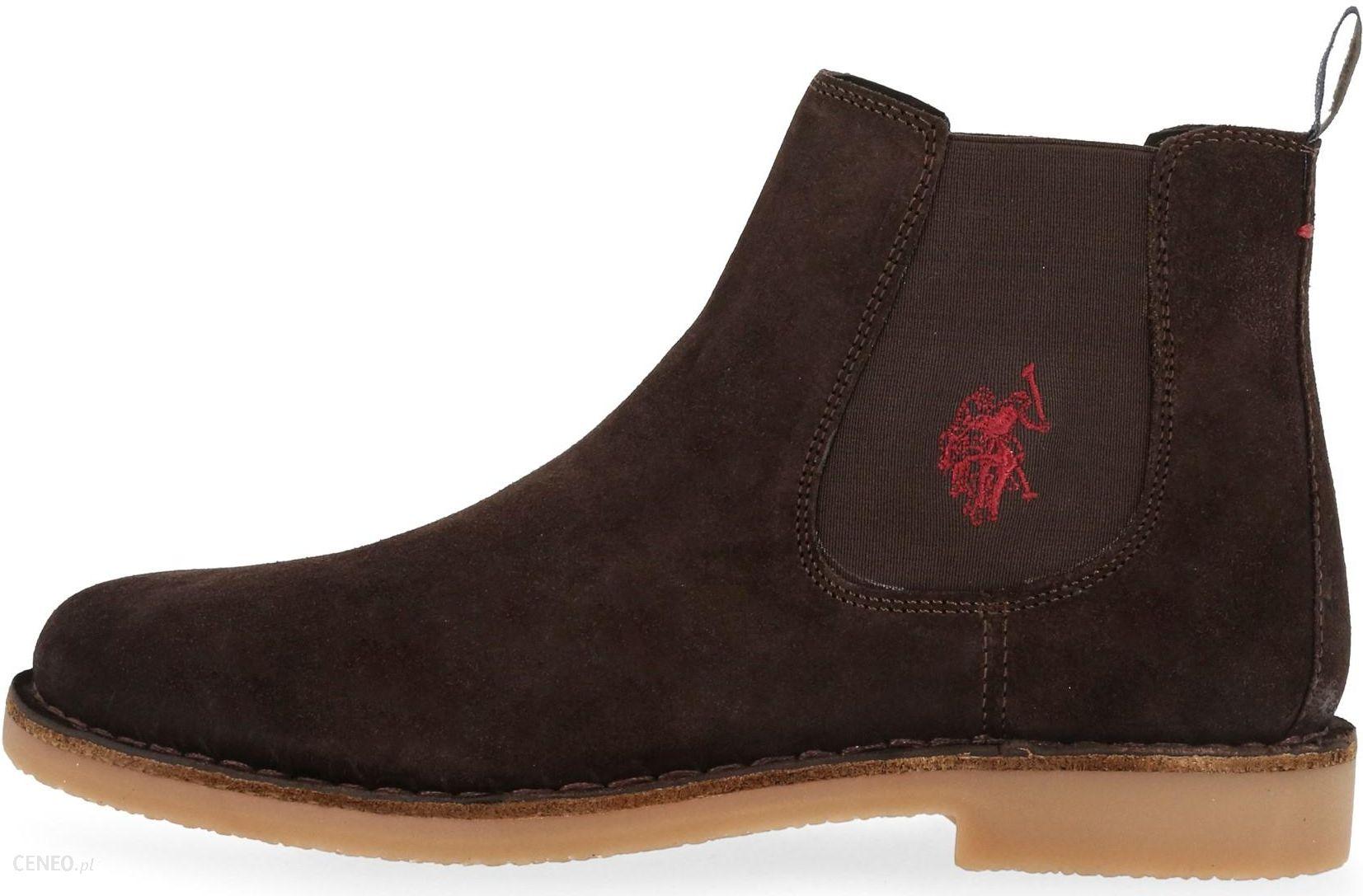 3ceaa61da725d U.S. POLO ASSN. buty za kostkę męskie Must 45 brązowy - Ceny i ...