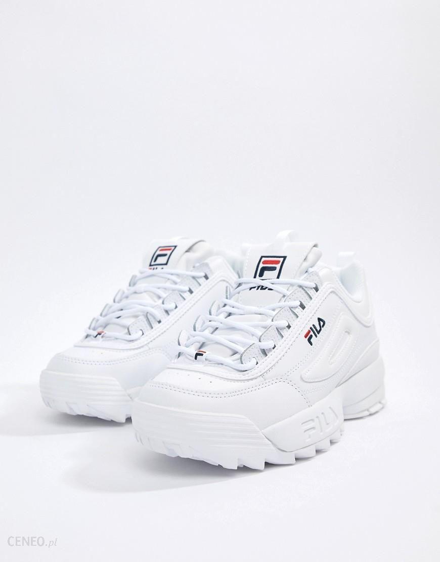 Fila Disruptor Trainers In White White Ceneo.pl