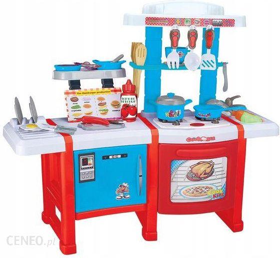 Zabawka Baby Maxi Duża Kuchnia Dla Dzieci Z Lodówką Piekarnikiem Kuchenką Ceny I Opinie Ceneopl