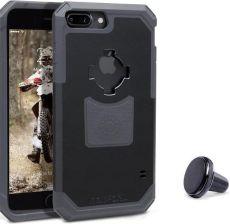 pretty nice dfc54 0eb2c RokForm Etui Rugged + uchwyt magnetyczny do Apple iPhone 7 Plus / 8 Plus  czarno-szare Czarny - Etui na telefon, ceny i opinie - Ceneo.pl