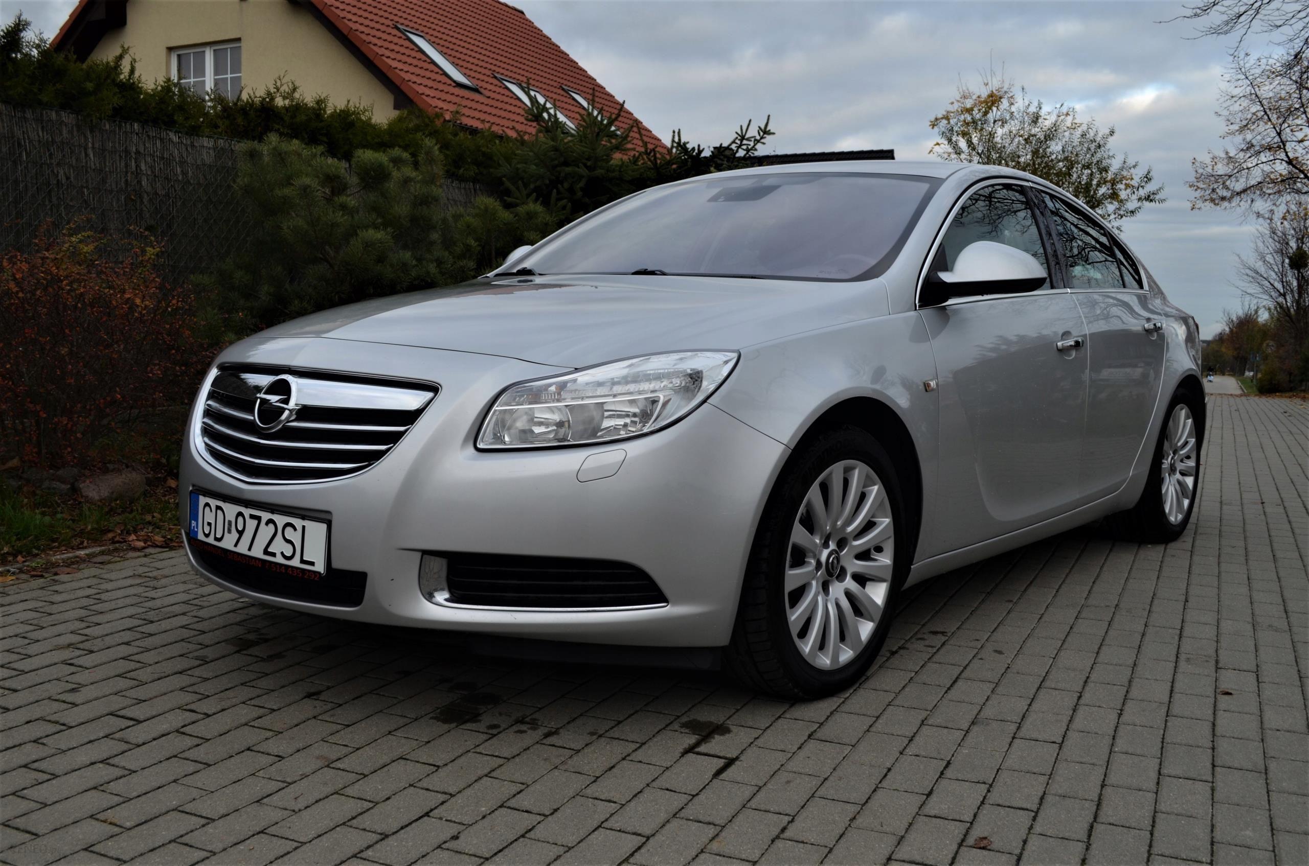 Opel Insignia Country 195km 4x4 Cross Xenon Led Opinie I Ceny Na Ceneo Pl