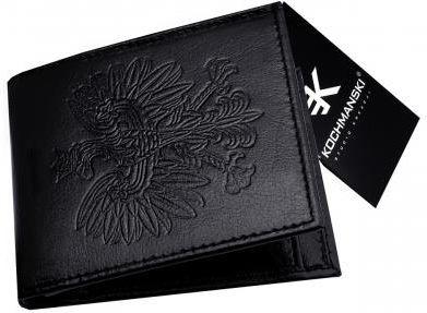 f32a8eb923ea2 Kochmanski Studio Kreacji® Kochmanski skórzany portfel męski HQ 1345 -  zdjęcie 1