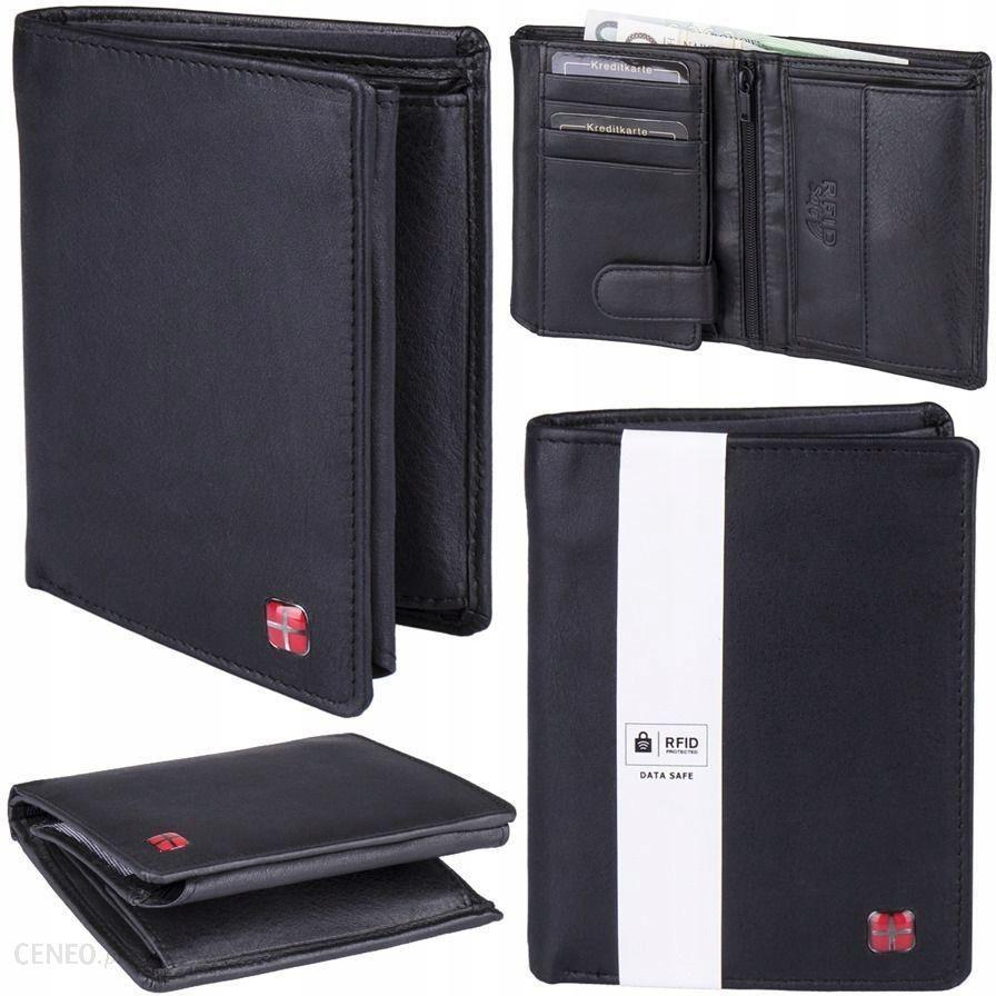 bf5b2a29fce9a Portfel męski pionowy czarny RFID STOP New Bags - Ceny i opinie ...