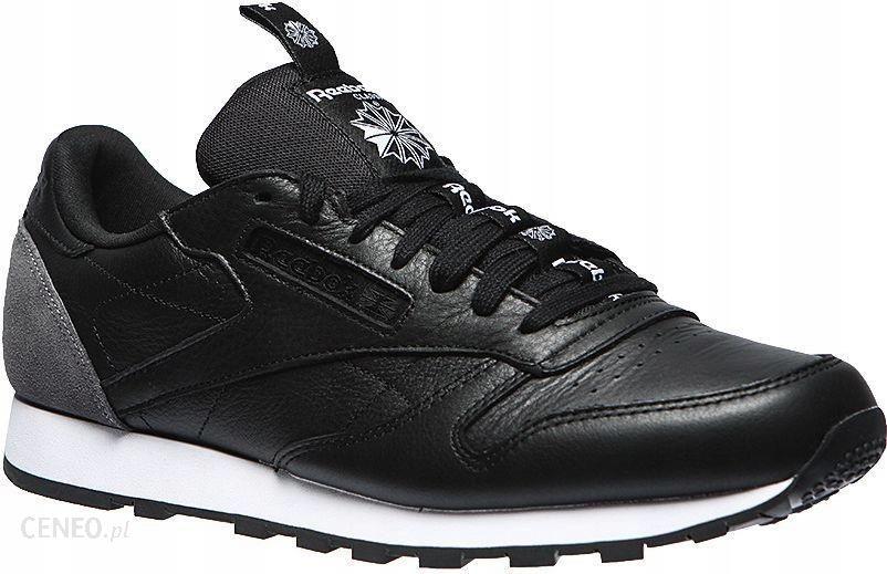 Reebok Buty męskie Classic Leather IT czarne r. 45 Ceny i opinie Ceneo.pl