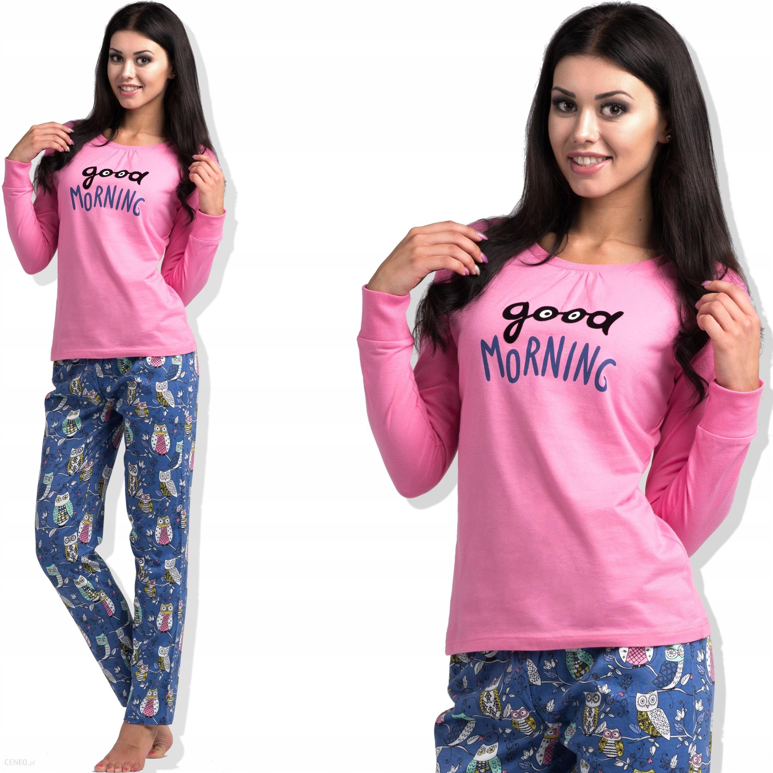 69eec2992aaaef ROSSLI piżama damska SAL PY 1019 dł dł różowa L - Ceny i opinie ...