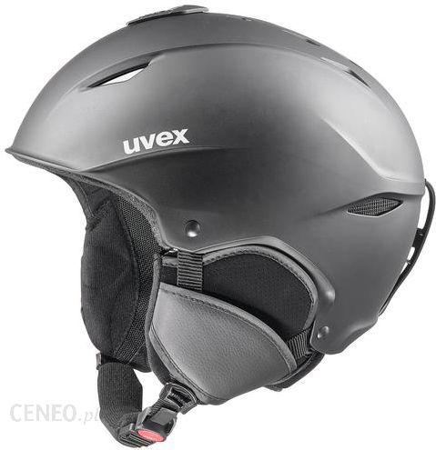 Kask narciarski Uvex Race + Black Silver R: 55 56 cm