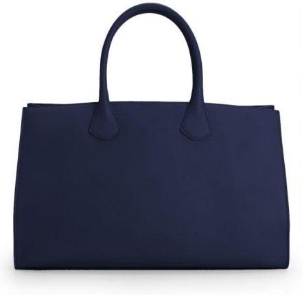 4b303047c6b5d Czerwona torba na laptop ze skóry ekologicznej marki Bellugio - Ceny ...