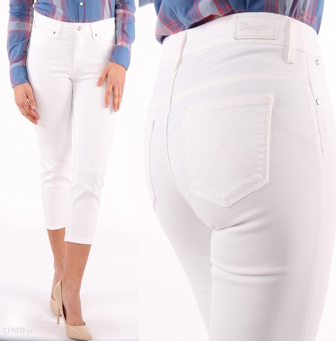 Spodnie I W27 Capri Ceneo pl 34 L32 Wrangler Białe Opinie Ceny 4LA5jR