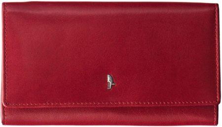 6a046f9d31202 Klasyczny portfel damski cavaldi miękka skóra naturalna - czerwony ...
