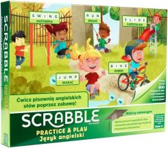 Mattel Scrabble Practice And Play GGB32