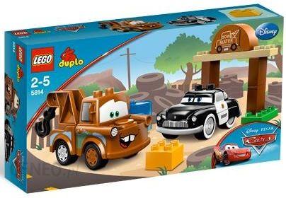 Klocki Lego Duplo Cars Plac Złomka 5814 Ceny I Opinie Ceneopl