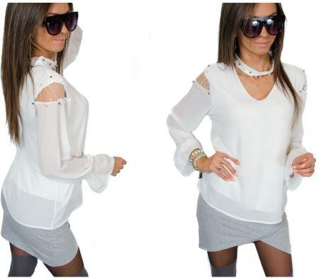 94521b3f8 ONE MUG A DAY Kwiaty wianek biały oversize koszulka tshirt biały - Ceny i  opinie - Ceneo.pl