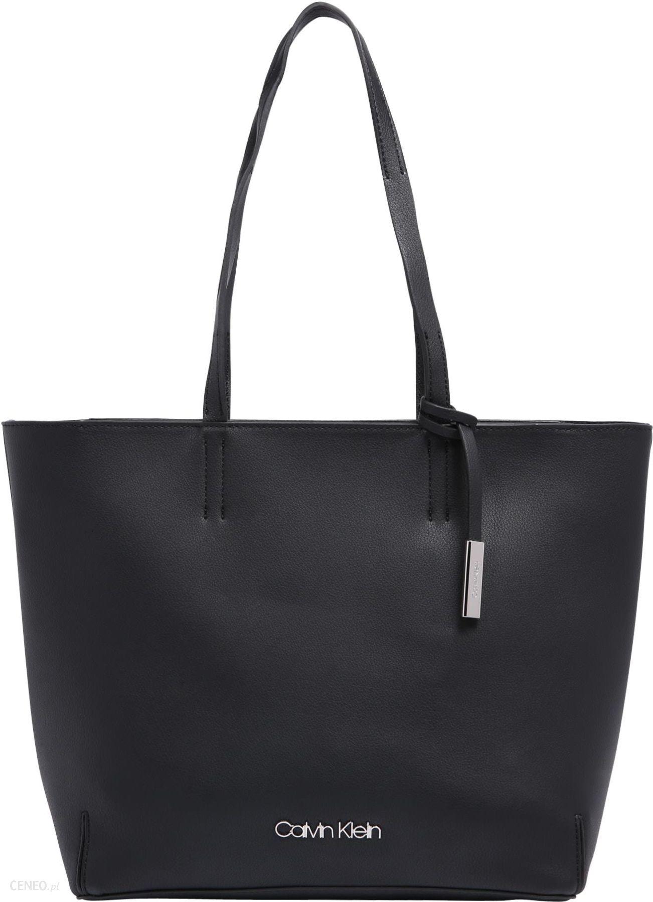 09c3ca410886e Calvin Klein Torba shopper  STITCH EW  - Ceny i opinie - Ceneo.pl