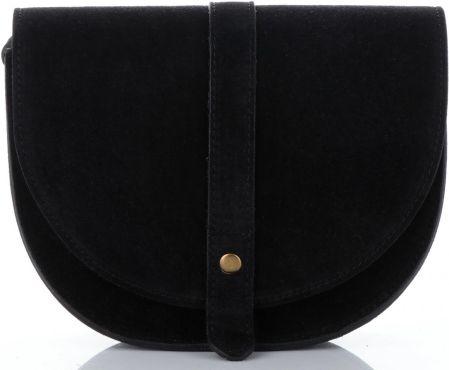 d616422f71ce5 Torebki Skórzane Listonoszki na każdą okazję marki Vittoria Gotti Made in  Italy Czarne (kolory) ...