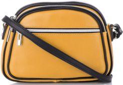 83afb76ffe9f8 Włoskie Torebki Skórzane Uniwersalne Listonoszki do noszenia na co dzień  Żółte (kolory)