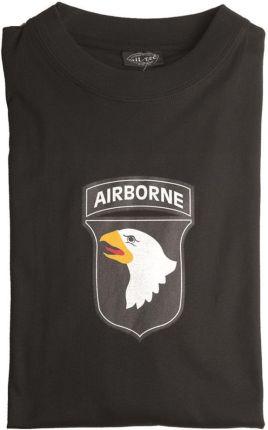 Mil Tec T Shirt 101St Black (11052002) - Ceny i opinie T-shirty i koszulki męskie RFMG