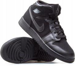 Buty Nike Air Force 1 MID (gs) Czarne 314195 004 Ceny i opinie Ceneo.pl