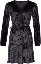 a812297980 Sukienka aksamitna z efektem czarny 50 5XL 959628