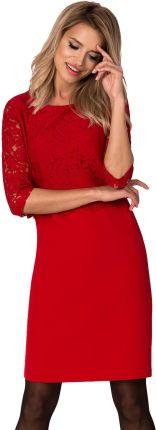 7c51740847 Podobne produkty do 48-04 CATERINA - sukienka z koronkową górą (koral)
